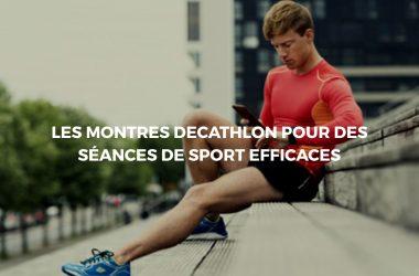 Montre decathlon