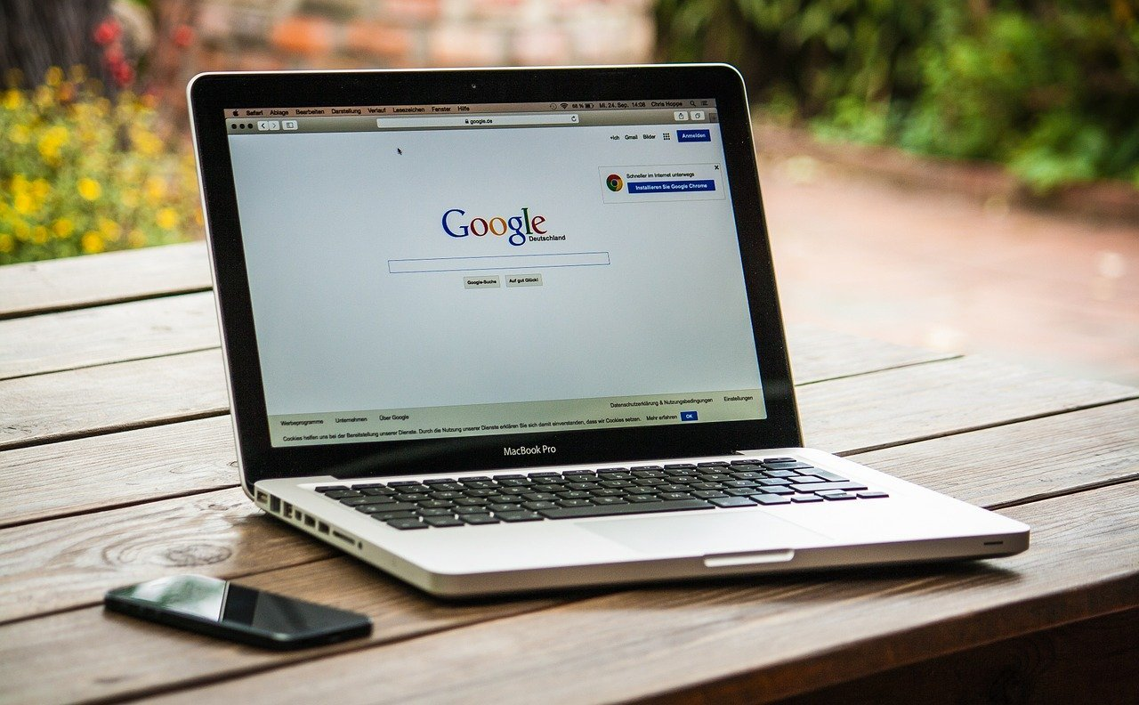 google sur mac book